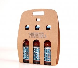 Boîte pour trois bières à personnaliser