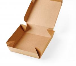 Boîte carrée en carton pour sushis