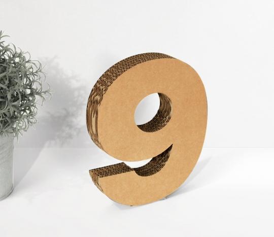 Numéros en Carton