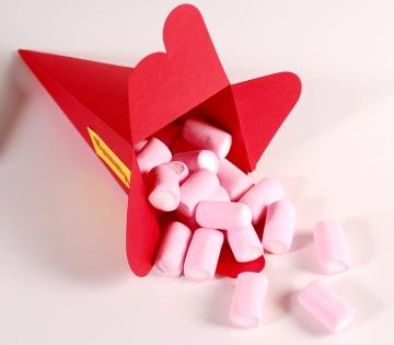 Boîte cône pour bonbons