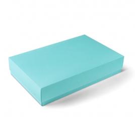 Boîte rectangulaire avec base et couvercle