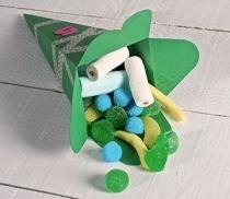 Cornet à bonbons en carton pour les fêtes