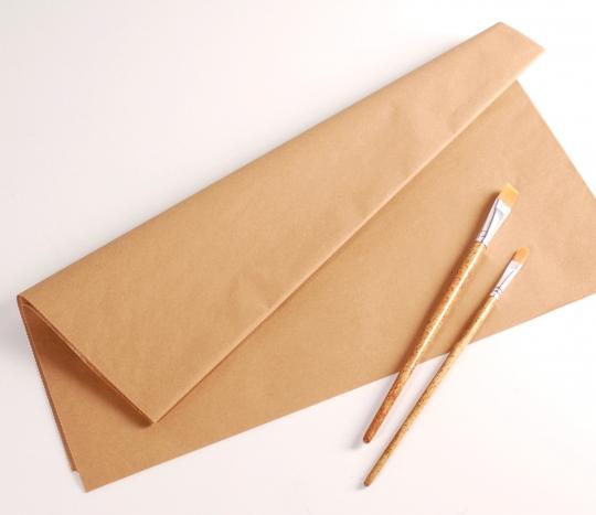 Papier manille couleur kraft