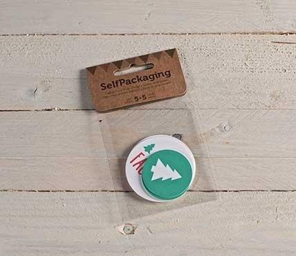 Kit d'étiquettes sapin + Santa's