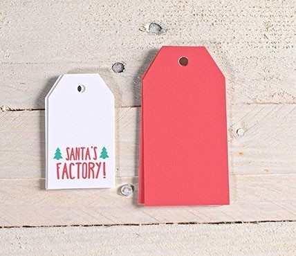 Kit d'étiquettes basiques + Santa's