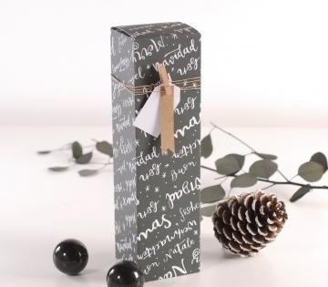 Coffret individuel pour les vins de Noël