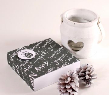 Boîte pour chocolats de Noël