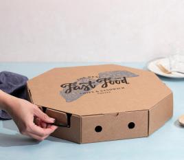 Boîte pour paella à emporter