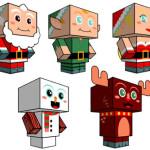 Cubeecraft: des jouets en cartons gratuits!