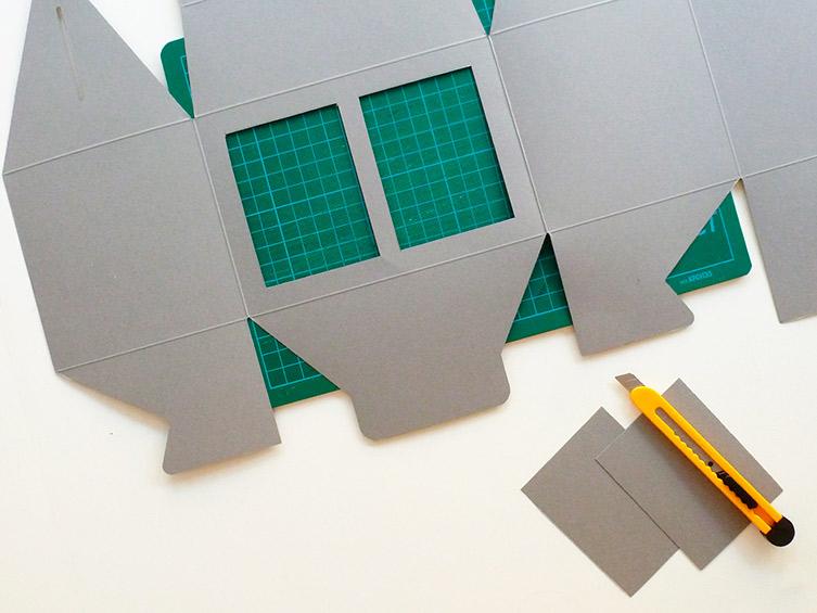 comment faire une lampe partir d une bo te en carton. Black Bedroom Furniture Sets. Home Design Ideas