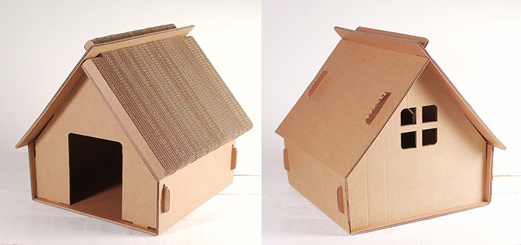 jouets en carton pour chats selfpackaging blog. Black Bedroom Furniture Sets. Home Design Ideas