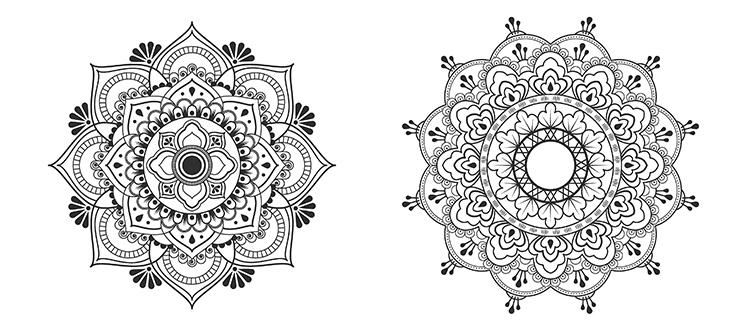 Petites Boite Mandalas Pour Colorier Selfpackaging Blog