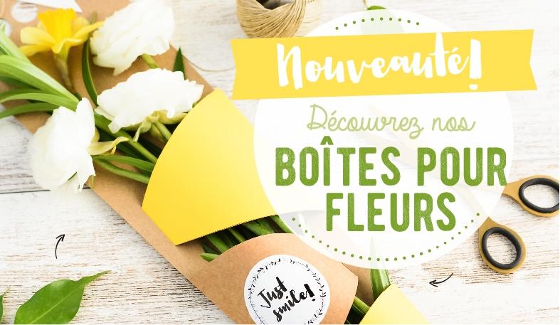 BOÎTES POUR FLEURS